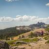 Castle Peak Truckee Hiker Frog Lake