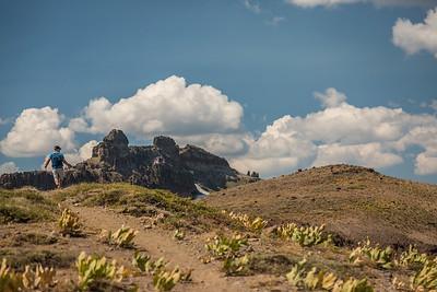 Castle Peak Hiker Truckee Sierra