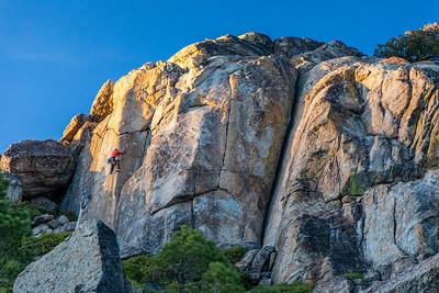 Rock Climbing Donner Summit