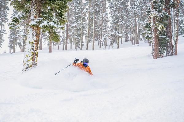 Powder skier Northstar