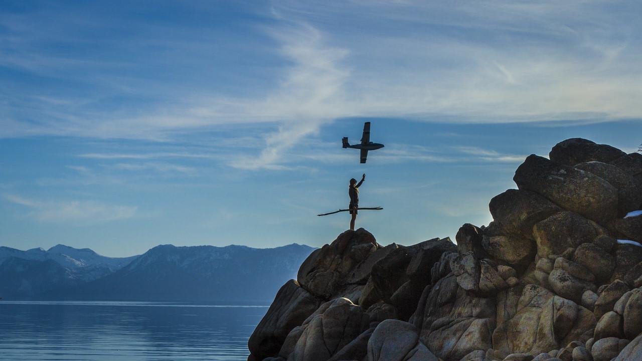 Seaplane at Lake Tahoe