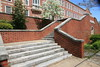 Red brick building with steps 2