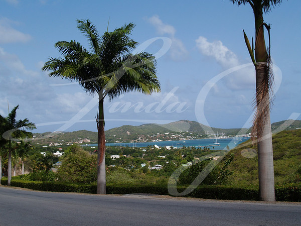 Falmouth Harbour on Antigua Barbuda in the Caribbean Lesser Antilles West Indies.