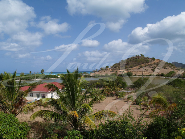 Home with a view in Antigua Barbuda in the Caribbean Lesser Antilles West Indies.