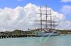 Large Sailing Ship in Antigua Barbuda