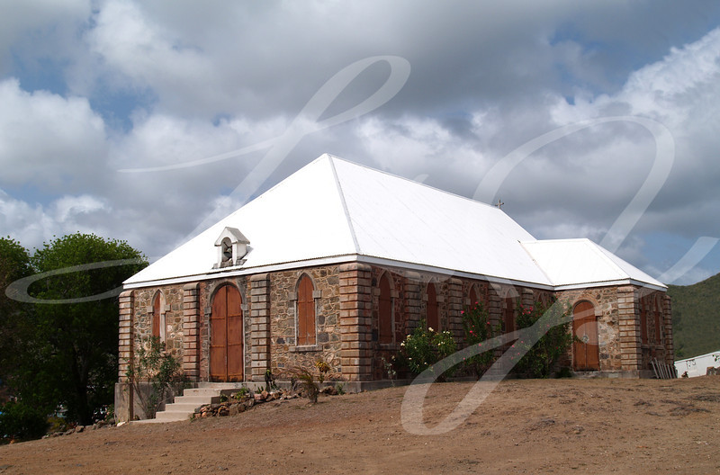 Methodist church in Antigua Barbuda in the Caribbean Lesser Antilles West Indies.