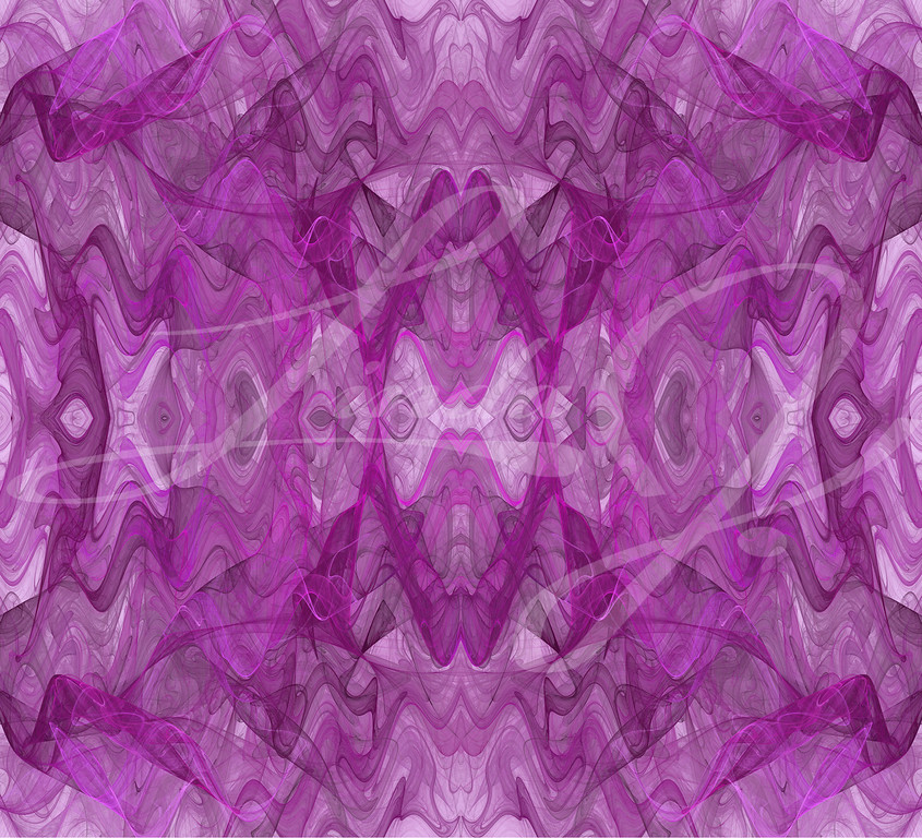 Lavender wavy seamless fractal textile or background pattern.