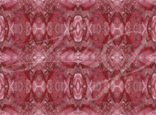 Seamless abstract fractal wallpaper, textile pattern or background in pinks, gray and reds.