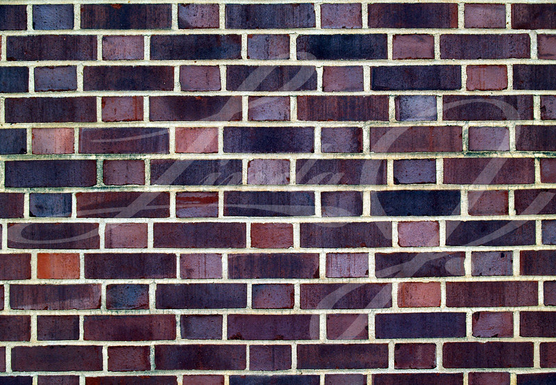 Old brick  exterior wall with Red and black duo-sized bricks.