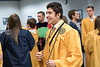 WVU Biology graduate Bryan Razzaq dresses for the Phi Beta Kappa honor society induction ceremony May 13, 2017 along with other pledges as part of the WVU commencement weekend. The Phi Beta Kappa Society is the oldest honor society for the liberal arts and sciences in the United States. Photo Greg Ellis
