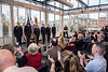 Cadets are recoginzed during the conclusion of the ARMY ROTC Commissioning ceremony in the Mountaineer Room of the Mountainlair December 14th, 2017.  Photo Brian Persinger