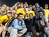 WVU Freshmen students come together making new friends and enjoying the evening at Monday Night Lights Puskar stadium August 14, 2017. Photo Greg Ellis