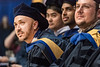 WVU graduate Saroj Rpadhan MAE looks on at the Benjamin M. Statler College of Engineering and Mineral Resources Commencement May 12, 2018. Photo Greg Ellis