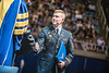 2nd Lieutenant Chris Norman of the Wood Science and Technology receives his diploma at the The Davis College of Agriculture, Natural Resources and Design Commencement in the Coliseum on May 12, 2017. Photo Brian Persinger