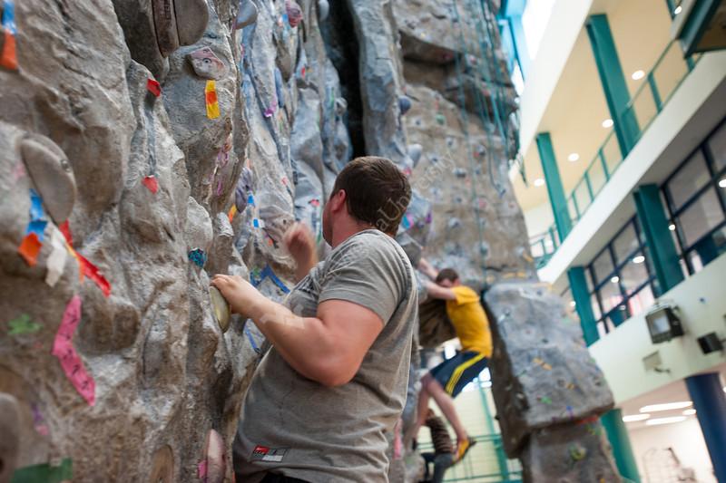 Rock Climbing at the Rec Center