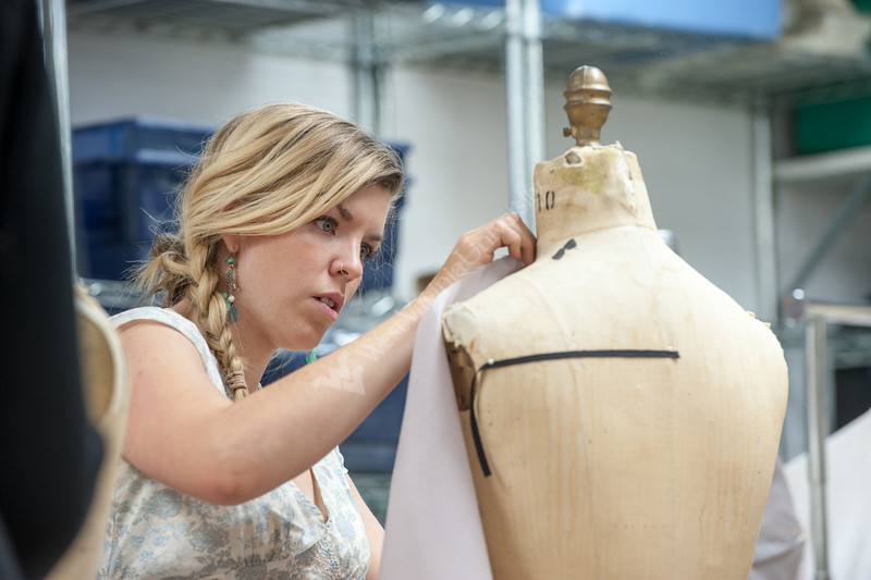 Costume making demonstration