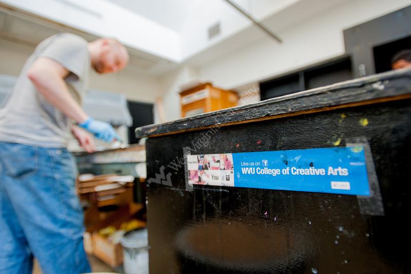 CCA Print Making Studio