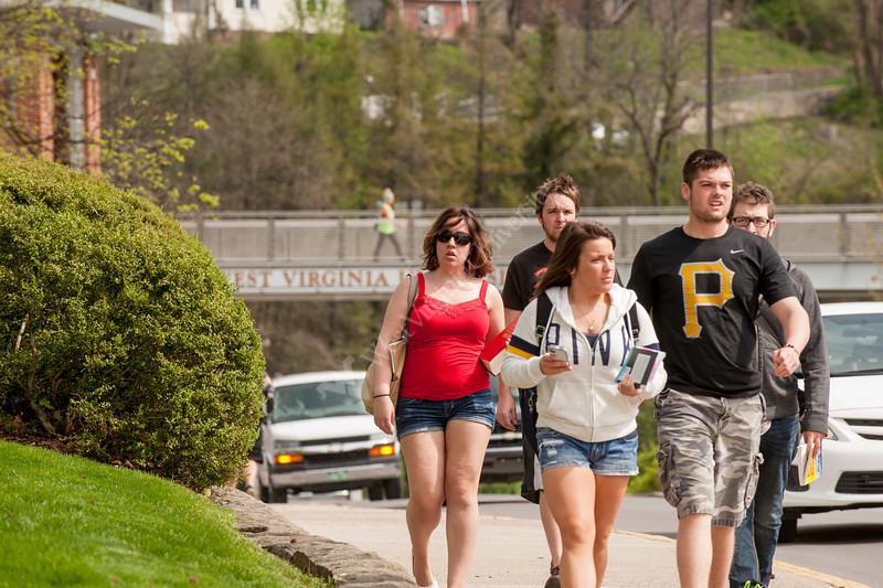 Campus student scenes