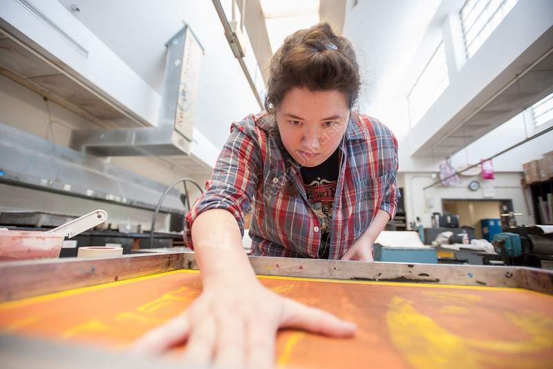 CCA Print Making Studio