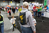 The WVU team gave away almost 10,000 WVU cinch sacks over the 3 days of the show.