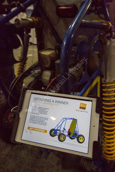 "The Mini-Baja Car app, called ""Designing a Winner."""