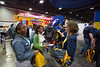 Almost 10,000 WVU cinch sacks were given to visitors throughout the show.