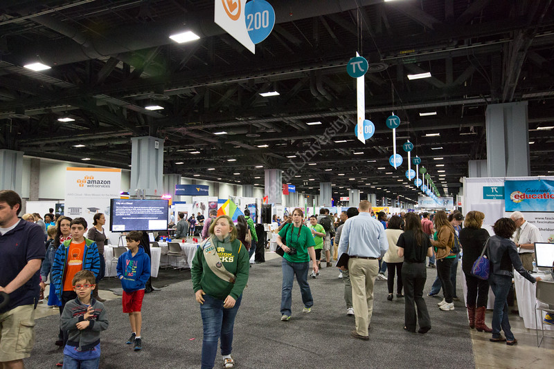 General views of the 2014 USA Science and Engineering Festival.