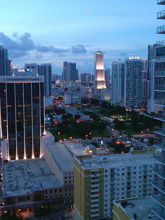 Downtown Miami at Dusk