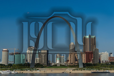 St. Louis Skyline and Gateway Arch