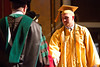 Michael Fagert graduates at the 2012 Honors Convocation.