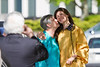 JoAnn Smith kisses her granddaughter, Brittany Ratcliff outside the Creative Arts Center. Ratcliff, a biochemistry major, attended the 2012 Honors Convocation.