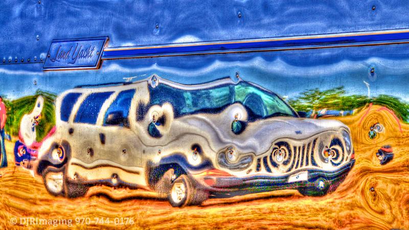 A Jeep for Van Gogh - Alongside an Airstream Land Yacht