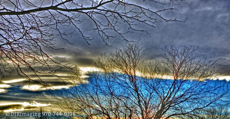 Winter Sky - Loveland, CO