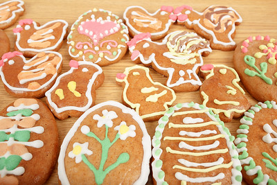 Easter gingerbreads collection