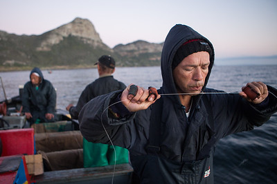 Traditional handline fishing