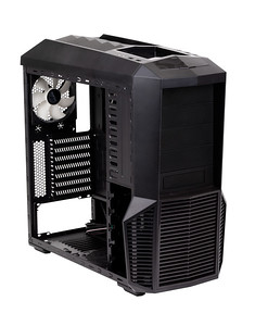 Case computing system black on white
