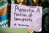 photo brian persinger; immigration ban; vigil; woodburn circle; wvutoday; social; 33074