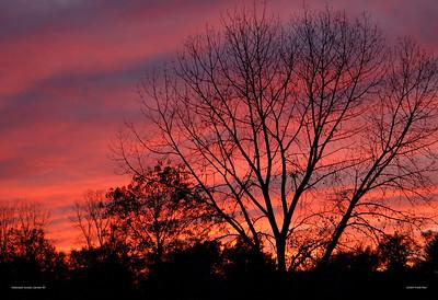 Halloween Sunset Carmel, NY
