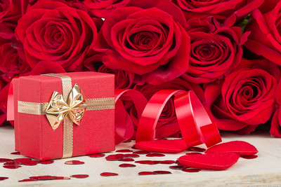 Red roses flowers, love & Valentine concept