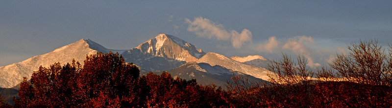 Longs Peak at Morning's First Light