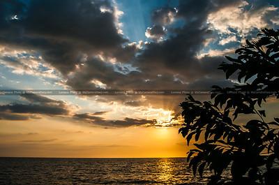 Sunset In Tanjun Aru