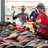 The Fish Vendors In The Fish Market