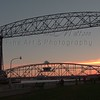 <strong>The Lift-Bridge at Sunset</strong> Canal Park - Duluth, MN