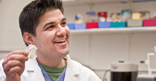 BUCKET (March 2010) - Dental resident Dr. Waleed Alyassin plans to use the skills he acquired in WVU's first-ever Preceptorship Program in Periodontics and Dental Implants to change lives in his home country of Kuwait. He hopes it's the beginning of an ongoing relationship between School of Dentistry faculty and dentists in Kuwait.