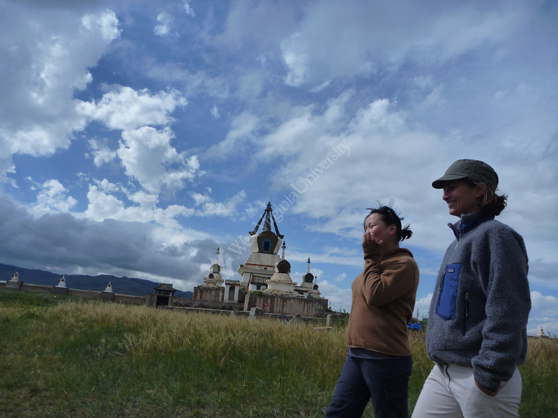 ORIGINAL - Amy Hessl in Mongolia