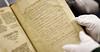 BUCKET - Dec. 21, 2011 - Elizabeth Dacre poem in Rare Book Room, original = 27850s0006xx
