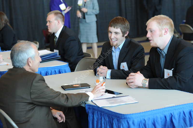 WVU  student take part in the WV Business Plan Competition Robert H. Mollohan Research Center November 2012 (WVU Photo/Greg  Ellis)