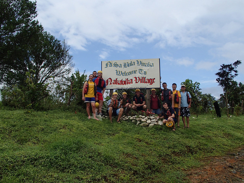"Submitted photo: Thanks to slow sand filters installed by WVU Engineers Without Borders, the remote village of Nakavika, Fiji, now has access to cleaner, safer water. Read More - <a href=""http://wvutoday.wvu.edu/n/2013/01/31/wvu-students-build-slow-sand-filters-for-villagers-in-fiji"">http://wvutoday.wvu.edu/n/2013/01/31/wvu-students-build-slow-sand-filters-for-villagers-in-fiji</a>"