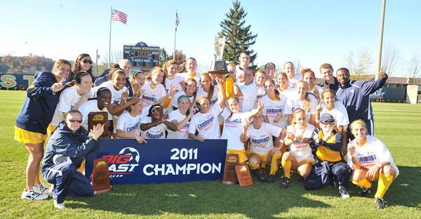 BUCKET - Nov. 8, 2011 - BIG EAST women's soccer champs