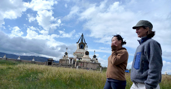 BUCKET - Amy Hessl in Mongolia